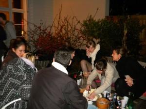 Barbecue en terrasse le 23 Mars : Oui mais avec les manteaux tout de même !!