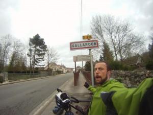 Enfin arrivés à Gallardon !!