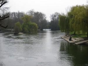 Pique-nique à Jarnac, au bord de la Charente