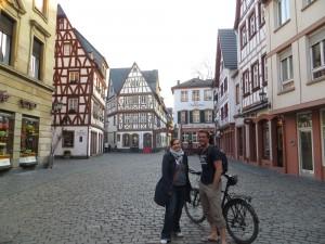 Coco et Nicole dans le centre de Mainz !