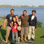Avec Isabel et sa famille, nous avons passé 2 jours à Hambourg. Balade et bonne humeur étaient au rendez-vous :)