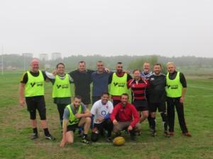 Petit Touch' avec une équipe amateur à Stockholm