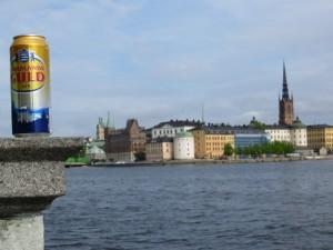 Petit rafraîchissement sur les berges de la capitale suédoise