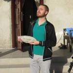 Mathieu a Bishkek nous ouvre les portes de son manoir. Super moments passes avec lui :)