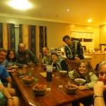 La famille Mete au grand complet nous accueille ! Inoubliables moments passes avec eux a Auckland