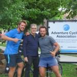 Greg, un des fondateurs d'Adventure Cycling, une légende de la roue !!