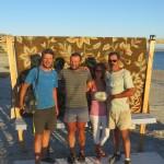 Ron et Melinda nous offrent un festin dans leur maison au bord de la Mer de Cortès. Un régal !!