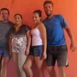 Au hasard des rues, Angelica nous propose de dormir chez elle à Hualtulco. Un coeur sur la main !!