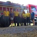 Merci aux pompiers de Puerto Jimenez sur la peninsule de Osa.