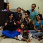 Un Grand merci a Evy et ses filles avec qui nous sommes restes trois jours du cote de San Jose !