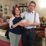 Les cousins Francois et Christine nous ont accueilli à Palaiseau. Super soiree autour dún repas animé