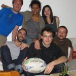 Emilie nous accueille en compagnie de José Philipe et Manu à Verdun. Merci pour le couscous !!