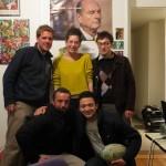 Dernière soirée en France à Metz avec Caio, Simone et Emil...une petite sortie s'impose !