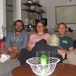 Ludovic et Severine nous accueillent 3 nuits à Stockholm. Merci !!!