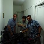 Ruben nous accueille a Moscou !!!