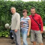 Alexander et sa fille Irina nous gate a Chelny. Session Bania inoubliable