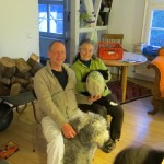 Sascha et sa femme nous ont hébergés avec une rude journée. Ils nous accompagnent sur les premiers Km le lendemain
