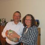 Gerd et Heike nous héberge ! Un couple avec le sourire !