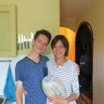 Konstantin et Elena nous ont gaté : en plus de nous aider à arriver à Moscou, ils nous hébergent une nuit dans la capitale Russe