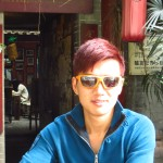 Liao avec les Ultra Flex de Coco au depart de Chengdu