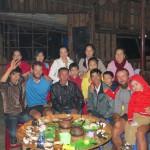 Ngo est notre père noel Vietnamien. Lui et sa famille nous accueillent durant 2 jours.