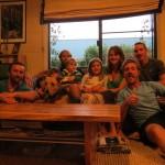 Garry et sa famille pleine de vie nous hebergent deux nuits vers Margaret river en Australie Occidentale