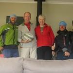 2 nuits au chaud dans la superbe maison d'Alison et Grant a Nelson, Nouvelle-Zelande, nous ont permis de recharger nos batteries !! Merci!