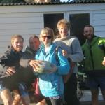 Liz et Ton nous accueillent deux nuits chez eux. Le couple s'appretait a partir pour une tournee en velo en Europe !! Bon vent !!