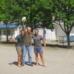 Nous restons quelques jours chez Mike a Juneau. L'incroyable bonhomme, a 78 ans, prepare sa prochaine traversee de l'Outback Australien en velo