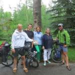 Philip et sa famille nous reçoivent pour une superbe soirée dans le Wyoming, près du Teton National Park.