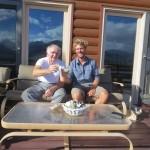 Casimir et son épouse hébergent Clément une nuit au beau milieu du Colorado. ça va de suite mieux après un petit pastis !