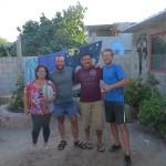 Sandra et Gabino nous reçoivent à Loretto ! En avant les frijoles !