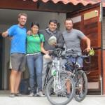 Griselda et Jenaro nous reçoivent comme des rois à La Casa La Bici à Guadalajara ! Mention spécial pour le Mole ;)