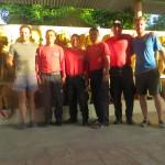 Chaleur à Puerto Escondido chez les pompiers qui nous hébergent deux nuits