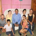 La famille Babino nous accueille au pied levée à San Carlos, Nicaragua. Un grand merci pour leur hospitalité !